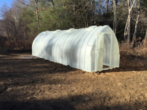 Our Homesteader Model boasts almost 2000 cubic feet of space and is large enough for those interested in self-sufficiency or those with specialty interests like hydroponics or aquaponics.
